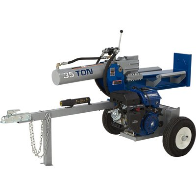 Powerhorse Horizontal/Vertical Log Splitter - 35 Tons, 420cc Powerhorse Engine by Powerhorse