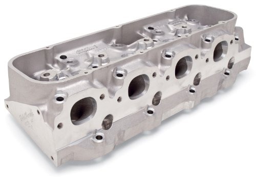 Victor 24 Deg. Rectangular Port Cylinder Head Chamber Size 118cc Intake Port Size 340cc Bare Single Chevy Big Block For 4.47 in. Bore And Up Semi-Finished Victor 24 Deg. Rectangular Port Cylinder Head - Edelbrock 77439