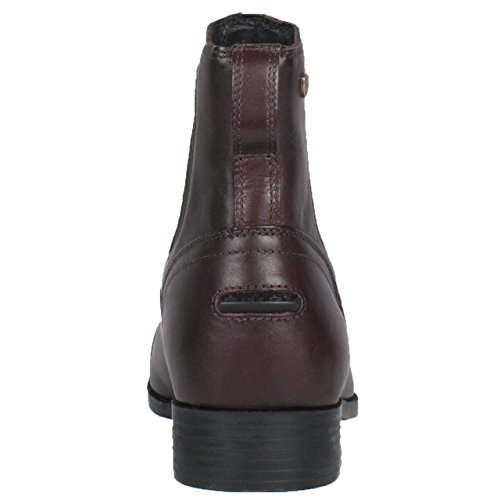 TOE PADDOCK Reitstiefelette ARIAT DRESS Damen braun CHALLENGE chocolate SQUARE TxqzwYInC