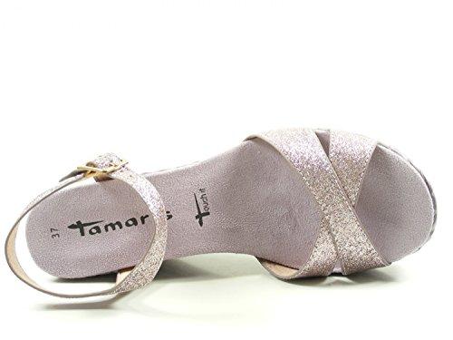 Tamaris 1-28309-28 Sandalias para mujer Lila