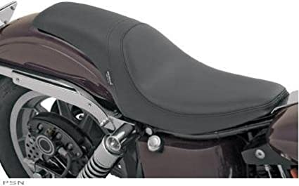 Drag Specialties 9 3 4 Inches Wide Smooth Predator Solo Motorcycle Seat For Harley