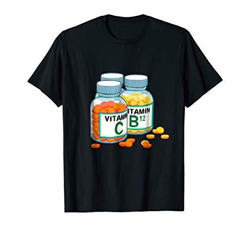 Vitamins t-shirt Health Nut Dietitian Nutritionist