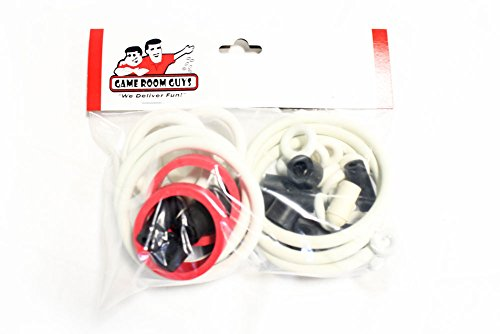 Data East Batman Pinball White Rubber Ring Kit (Data East Pinball)