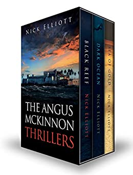 Book cover image for The Angus McKinnon Thrillers: A Trilogy
