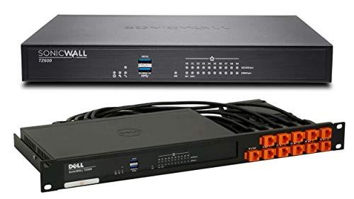 SonicWall TZ600 TotalSecure 1 Year Bundle with Rack Mount Kit - Utm Bundle Firewall Appliance