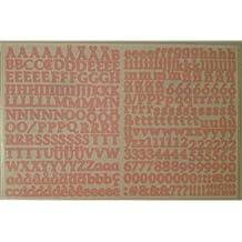 Mini ABC/123 Stickers: Bubblegum Classy