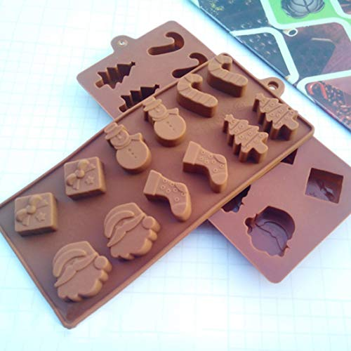 Silicone Mold - Arrival Silicone Cake Molds Snowman Christmas Tree Wand Socks Chocolate Baking - Letters Tiny House Before Circle Print Human Lace Oreo Wings Alien Nail Vegetable Tray Lips ()