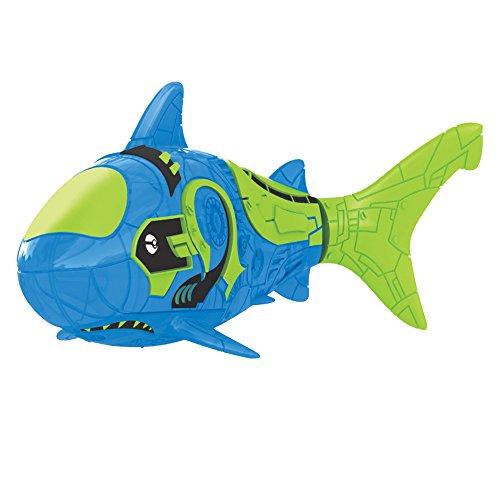 robo fish blue shark - 1