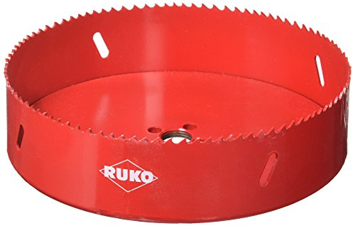 - RUKO 106168 High Speed Steel Bi-Metal Hole Saw, 6-5/8