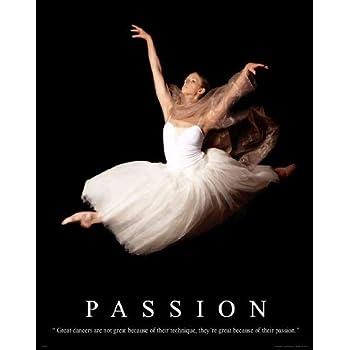 Religious Motivational Poster Print 11X14 Ballet Dance Philippians 4:13  RELG15