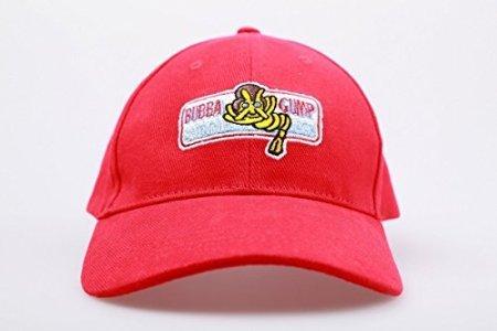 [Xcoser Forrest Gump Hat Cap Bubba Gump Shrimp Hat Red Color] (Forrest Gump Kid Costume)