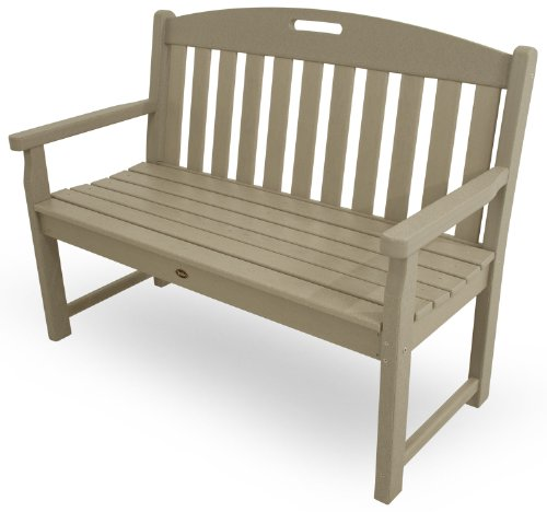 Trex Outdoor Furniture TXB48SC 48-Inch Yacht Club Bench, Sand Castle Review