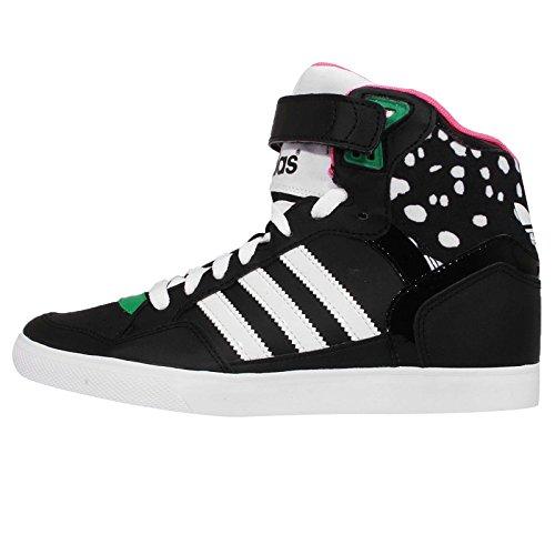 Adidas Women's Extaball UP W, LEOPARD-BLACK/WHITE, 8.5 US