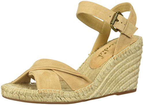 Splendid Women's Fairfax Espadrille Wedge Sandal, Nude, 6 Medium US by Splendid