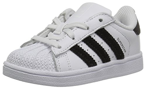 Price comparison product image adidas Kids' Superstar I, White/Black/White, 7 M US Infant
