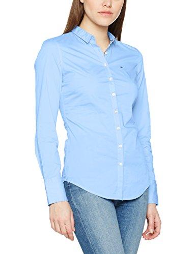 Hilfiger Denim, Blusa para Mujer Azul (Serenity 400)