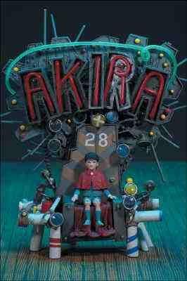 Akira Anime Figure on Throne