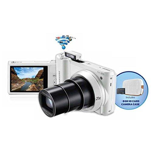 Samsung WB800F 16.3 MP Wi-Fi Enabled Digital Smart Camera - White (Open (Samsung Wifi Digital Camera)