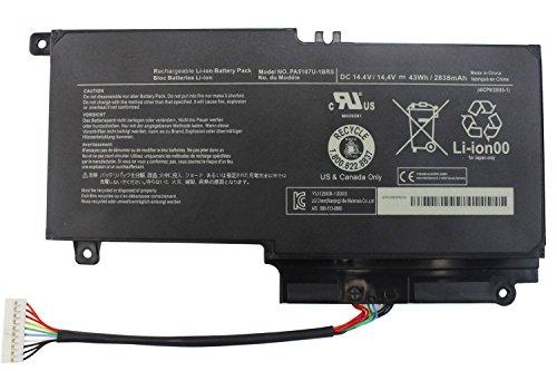 FLYTEN PA5107U PA5107U-1BRS Battery for Toshiba Satellite P50 P50-A P55 P55-A5200 P55-A5312,Satellite L50 L55 L55D L55-A5226 L55-A5284,Satellite S55 S55-A5188 S55-A5167 12 Months Warranty (Toshiba Satellite P55t)