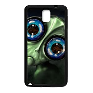 Big Eyes Monster personalized creative clear protective cell phone case for Samsung Galaxy Note3