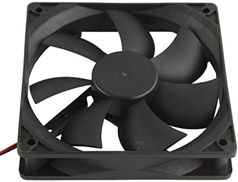 Fan Cooling 120mm 4-pin Cooling Fan with Dual Connectors 12025 4-pin Computer Components