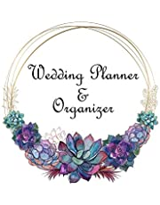 Wedding Planner & Organizer: Large Wedding Planning Notebook 150 Pages - Budget, Timeline, Checklists, Guest List, Table Seating & MORE!