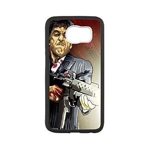 Al-Pacino-Scarface Samsung Galaxy S6 Cell Phone Case White SUJ8442346