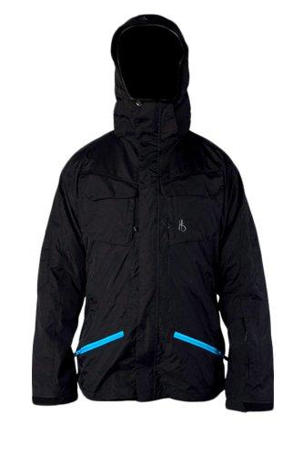 High Society Men's Highlands Shell Jacket, Black, Small
