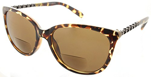 Women's Fiore Maui Bifocal Cateye Sunglasses Sun Readers Reading - Maui Readers