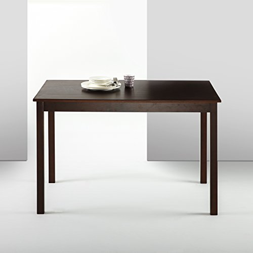 - Zinus Espresso Wood Dining Table/Table Only