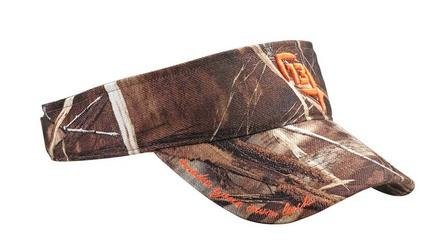 "13 Fishing ""The Half Chuck"" Visor Realtree Max 4 Cap, Camo"