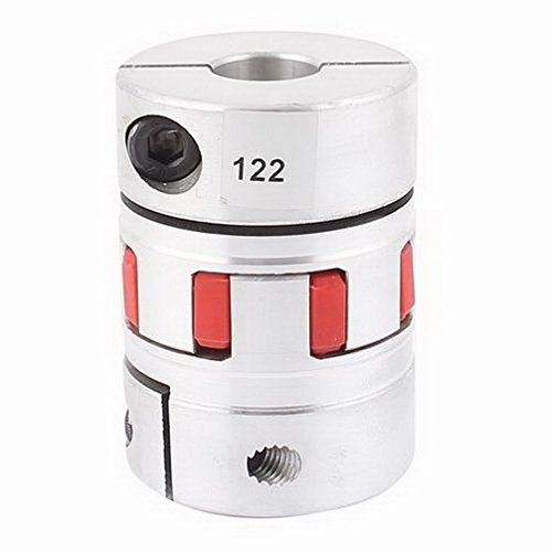 Motor 19mm x 19mm Flexible Stepper Motor Plum Coupling D55L78 Aluminum Alloy By Fuxell