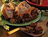 Gethsemani Farms Kentucky Bourbon Fruit Cake & 1 Lb Chocolate Bourbon Fudge
