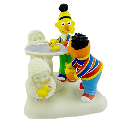 Dept 56 Snowbabies RUBBER DUCKIE HAVE SOME FUN 69812 Sesame Street Ernie - Rubber Ernie Duckie