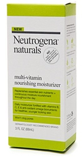 Neutrogena Naturals Multi-Vitamin Nourishing Face Moisturizer, 3 Fl. Oz.