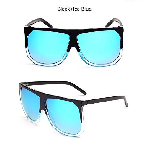 Wang-RX Gafas de sol cuadradas extragrandes de moda vintage ...