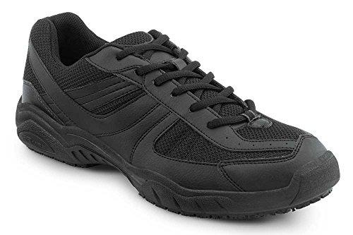SR Max Austin Men's Black Slip Resistant Sneaker - 15 M