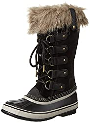Sorel Joan Of Arctic Black 2 Womens Waterproof Boots (8)