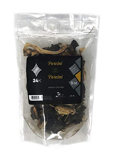 Dried Porcini Mushrooms (Boletus Edulis) 2 ounce (57 g) | Finest Quality