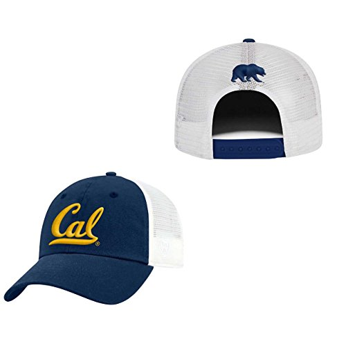 Top of the World Cal Golden Bears Adult NCAA Team Spirit Relaxed Fit Meshback Hat - Team Color,