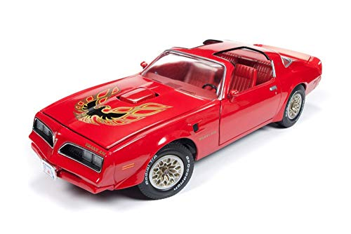- Auto World 1977 Pontiac Firebird Trans Am Hard Top, Buccaneer Red AMM1160 - 1/18 Scale Diecast Model Toy Car
