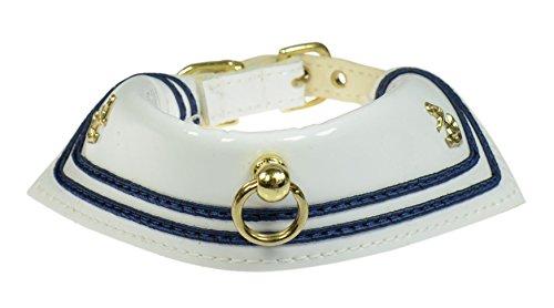 - Evans Collars Sailor Collar, Size 14, White
