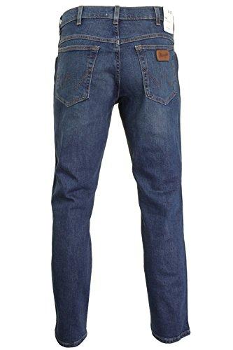 Indigo Original Straight Jeans Wit Texas Uomo Wrangler xCX7BPw