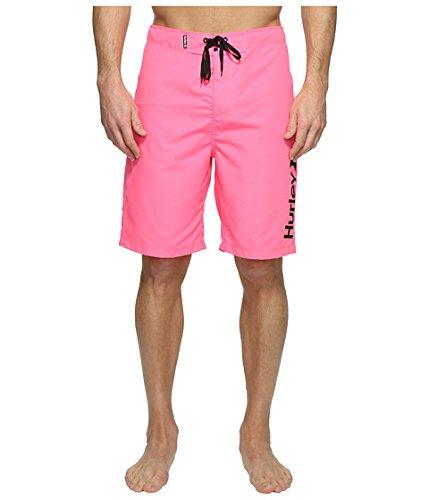 (ハーレー) Hurley メンズ水着スウィムスーツ One & Only 2.0 Boardshorts 21inches [並行輸入品] B06VX7X91M 34 (W: 86cm)|Neon Pink Neon Pink 34 (W: 86cm)