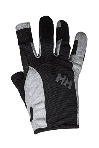 Helly Hansen Unisex Sailing Glove Long, Black, Large