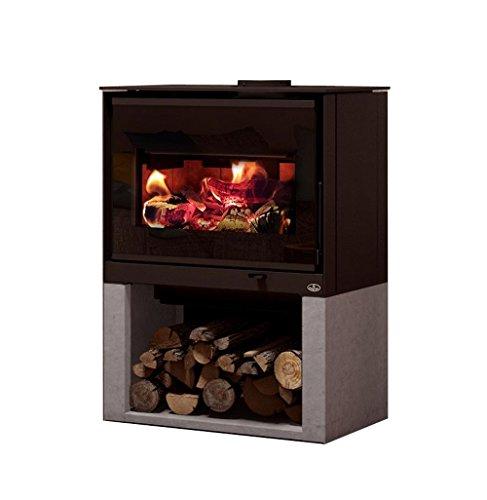 Osburn Inspire 2000 Wood Stove (OB02042-OA10242-OA10241), Decorative Side Panel Kit, Soapstone Base Kit