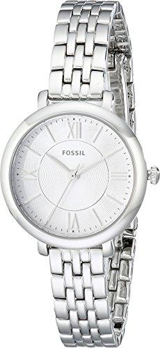 Fossil Women's Jacqueline Mini Quartz Stainless Steel Dress Watch, Color:...