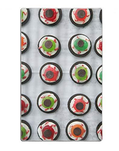 Khope Large Bath Towel - Halloween Eyeball Dessert Bath Sheet (Hotel, Spa, Bath) Super Soft Absorbent -