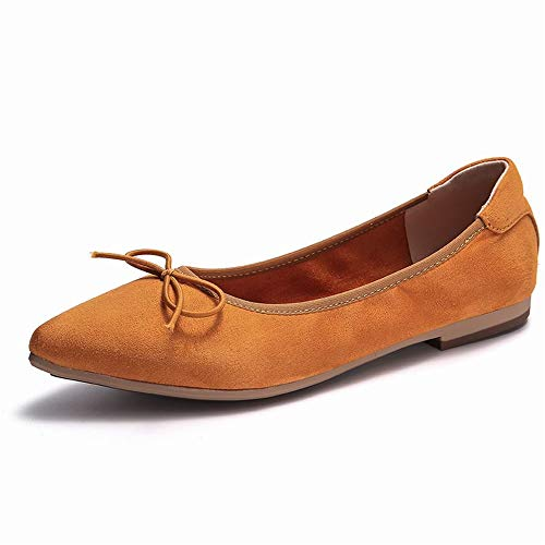 Women's Subway Dress Pump(Orange-Lable 37/6.5 B(M) US Women)