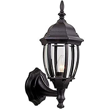 Craftmade Z268 Tb Bent Glass Outdoor Wall Mount Sconce 1